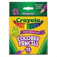 Color Pencil Short Barrel Assorted PK12 ZO46726625